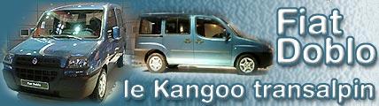 Doblo, le Kangoo de Fiat