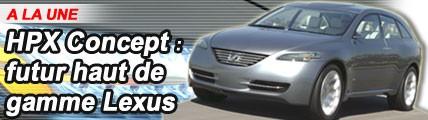 HPX Concept : futur SUV haut de gamme de Lexus