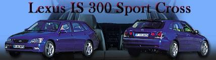 Lexus IS 300 Sport Cross