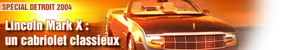 Lincoln Mark X : un cabriolet classieux
