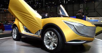 Mazda Hakaze : un concept pour la plage…