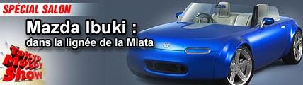 Mazda Ibuki : dans la lignée de la Miata