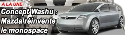 Mazda Washu : Mazda réinvente le monospace