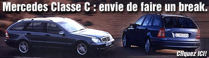 Mercedes Classe C, envie de faire le break