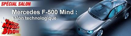 Mercedes F-500 Mind : salon technologique