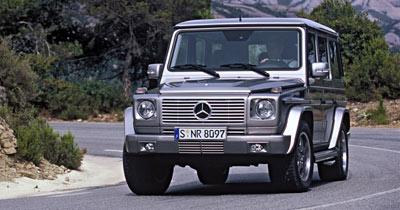 500 ch pour le Mercedes G 55 K AMG : Papy fait de la résistance !