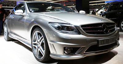 Mercedes CL63 by AMG : bestial !