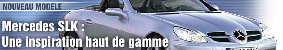Mercedes SLK : une inspiration haut de gamme