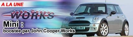 Mini : Boostée par John Cooper Works