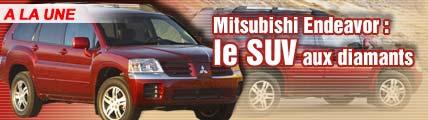 Mitsubishi Endeavor : le SUV aux diamants