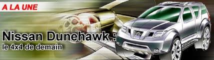 Nissan Dunehawk : le 4x4 de demain