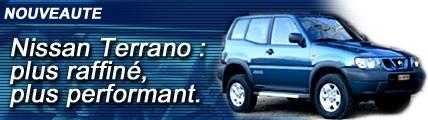 Le Nissan Terrano monte en puissance