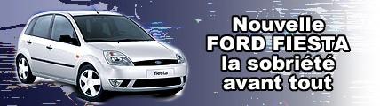Nouvelle Ford Fiesta, la sobriété avant tout