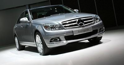La nouvelle Mercedes Classe C au grand jour
