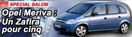 Opel Meriva : un Zafira pour 5