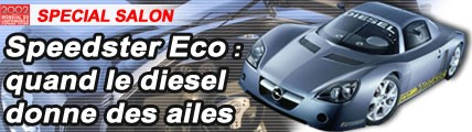 Opel Speedster Eco : quand le diesel donne des ailes