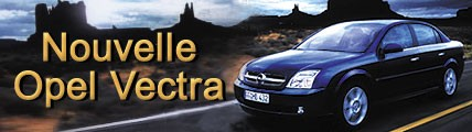 Nouvelle Opel Vectra