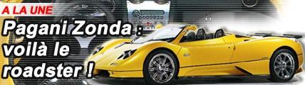 Pagani Zonda : voilà le roadster !