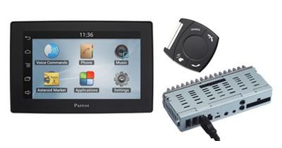 Parrot Asteroid Tablet : une centrale multimédia compatible avec toutes les voitures