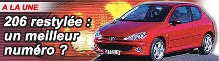 Peugeot 206 : un meilleur numéro ?