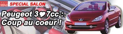 Peugeot 3coeur7 CC : coup au coeur !