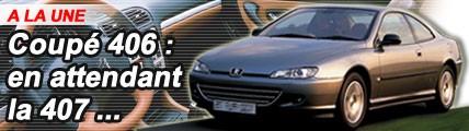 Peugeot 406 coupé : en attendant la 407...