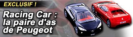 Racing Car : La paire d'as de Peugeot
