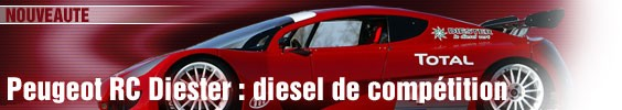 Peugeot RC Diester : diesel de compétition