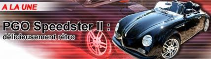 PGO Speedster II : délicieusement rétro