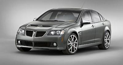 Pontiac G8 : Australo-ricaine
