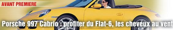 Porsche 997 Cabriolet : profiter du Flat-6, les cheveux au vent