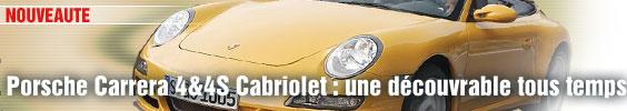 Porsche Carrera 4&4S Cabriolet : une découvrable tous temps