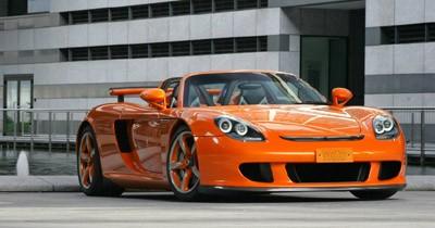 Porsche Carrera GT sauce TechArt : pulpeuse !