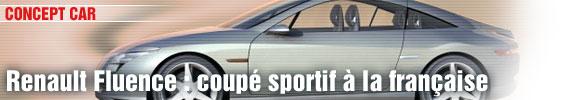 Renault Fluence : coupé sportif à la française