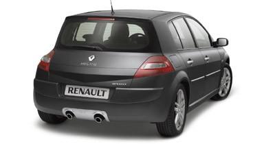 Renault Mégane GT et F1 Team R26