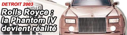 Rolls Royce : la Phantom devient réalité