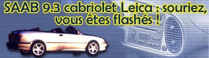 SAAB 9.3 Cabriolet Leica