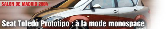 Seat Toledo Prototipo : à la mode monospace