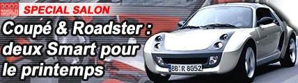 Roadster & Coupé : 2 Smart pour le printemps