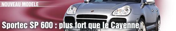 Sportec SP 600 : plus fort que le Cayenne