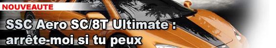 SSC Aero SC/8T Ultimate : arrête-moi si tu peux