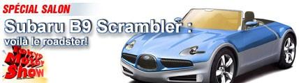 Subaru B9 Scrambler : voilà le roadster !