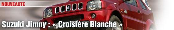 Suzuki Jimny : « croisière blanche »