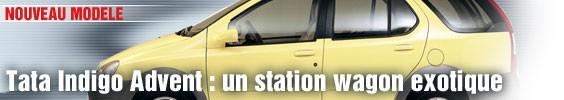 Tata Indigo Advent : un station wagon exotique
