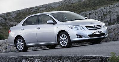 La Toyota Corolla 4 portes se joint à l'Auris