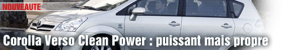 Toyota Corolla Verso Clean Power