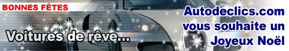 Pour Noël, faites le tour du rêve automobile avec Autodeclics !