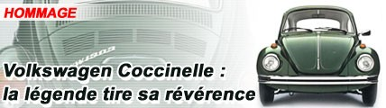 Volkswagen Coccinelle : la légende tire sa révérence