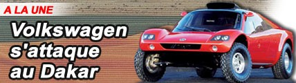 Volkswagen s'attaque au Dakar !