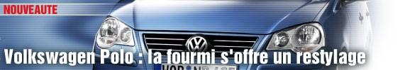 VW Polo : la fourmi s'offre un restylage